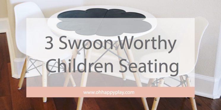 Swoon Worthy Children Seating