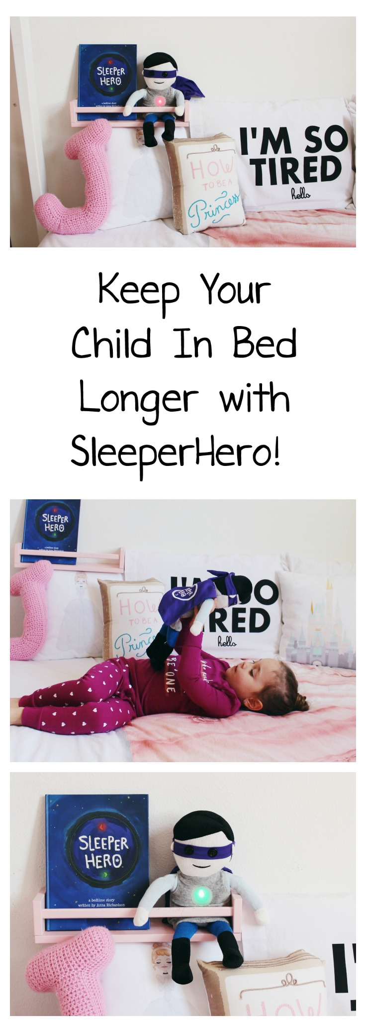 ok to wake clock, sleeper hero, sleeperhero, night clock, clock for kids, children's book, sleep routine, sleep schedule, red light, green light, oh happy play
