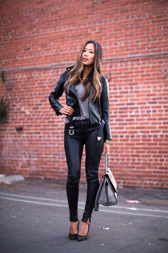 New Tendency Women's Leather Pants To Show Sex Appeal And Fashion - Ohh