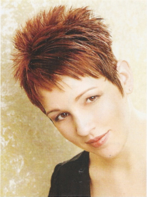 Layered Hair Female Bold And Beautiful Short Spiky Haircuts For Women Ohh My My