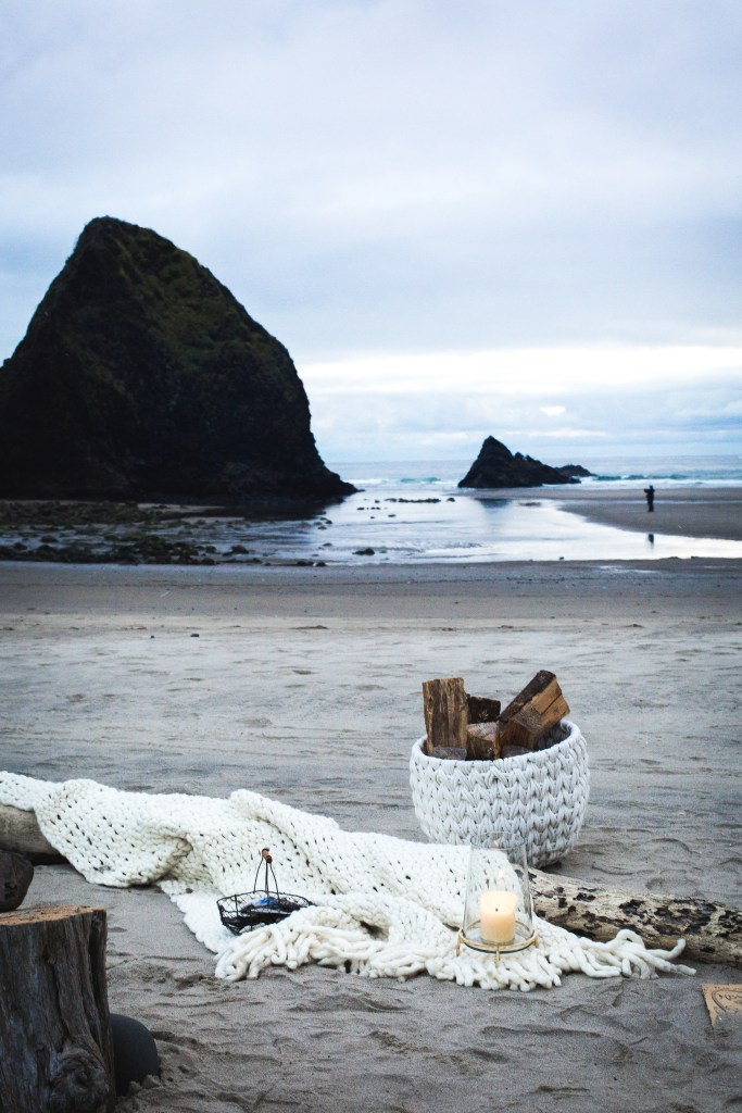 ohhoneybakes.com // thyme butter and lemon cake + an evening on the oregon coast