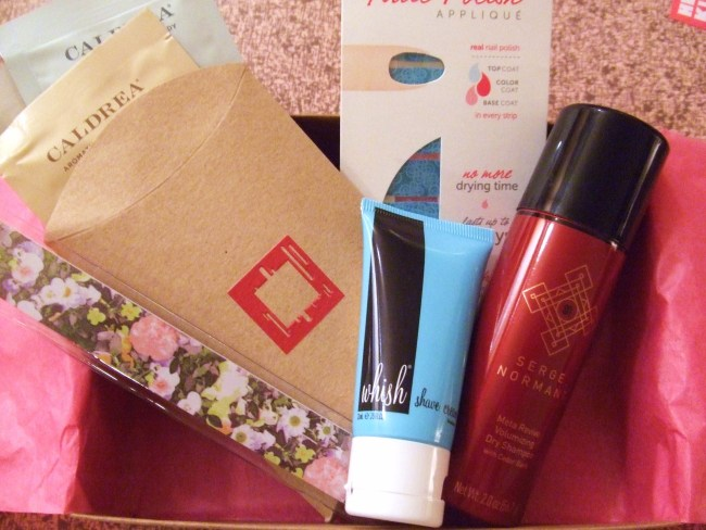 Birchbox No. 5: Whish, Incoco, Madewell, Caldrea & Serge Normant