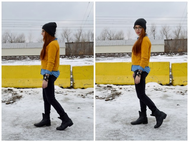 May28thWatches-w-MustardSweater-BlackJeans-Boots-Beanie (8)