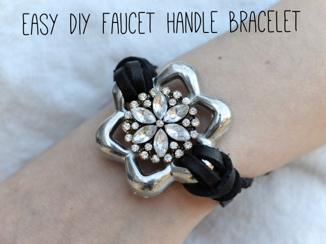 Hardware Store Jewelry | Easy, DIY Faucet Handle Bracelet
