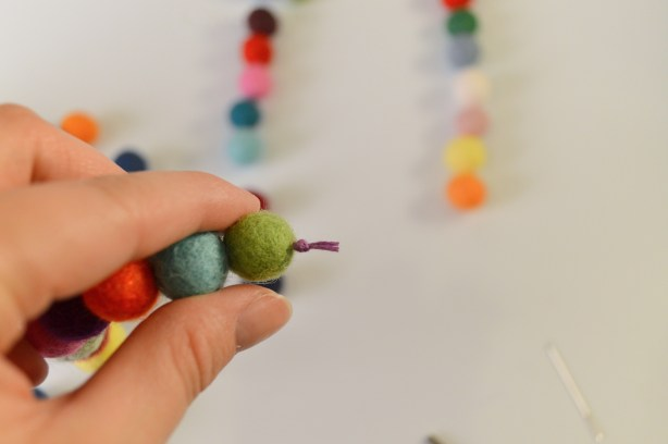 Oh Julia Ann - DIY  Felt Pom Purse Charm Craft (5)