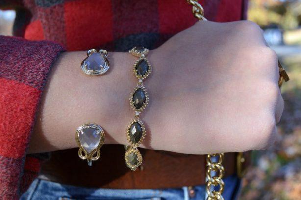 kendra-scott-jana-bracelet-in-pyrite-and-andy-bracelet-in-slate-cats-eye