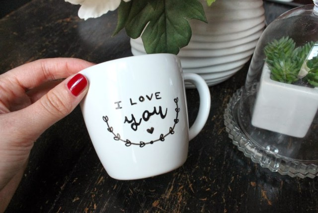 Mug Ceramique Diy Peinture Sur Porcelaine - Have A Good Day... Oh Lovely