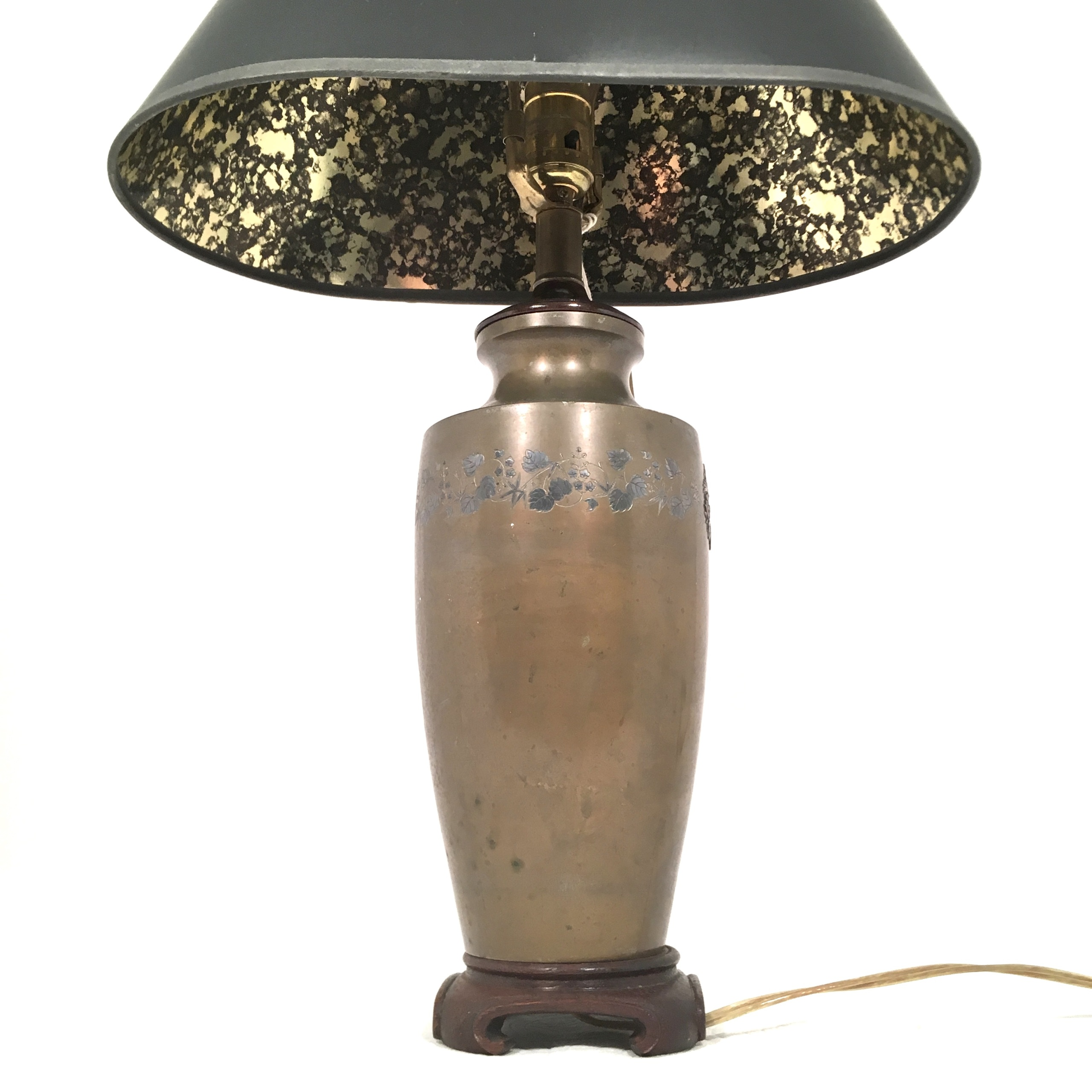 Asian Table Lamp Asian Style Brass Table Lamp