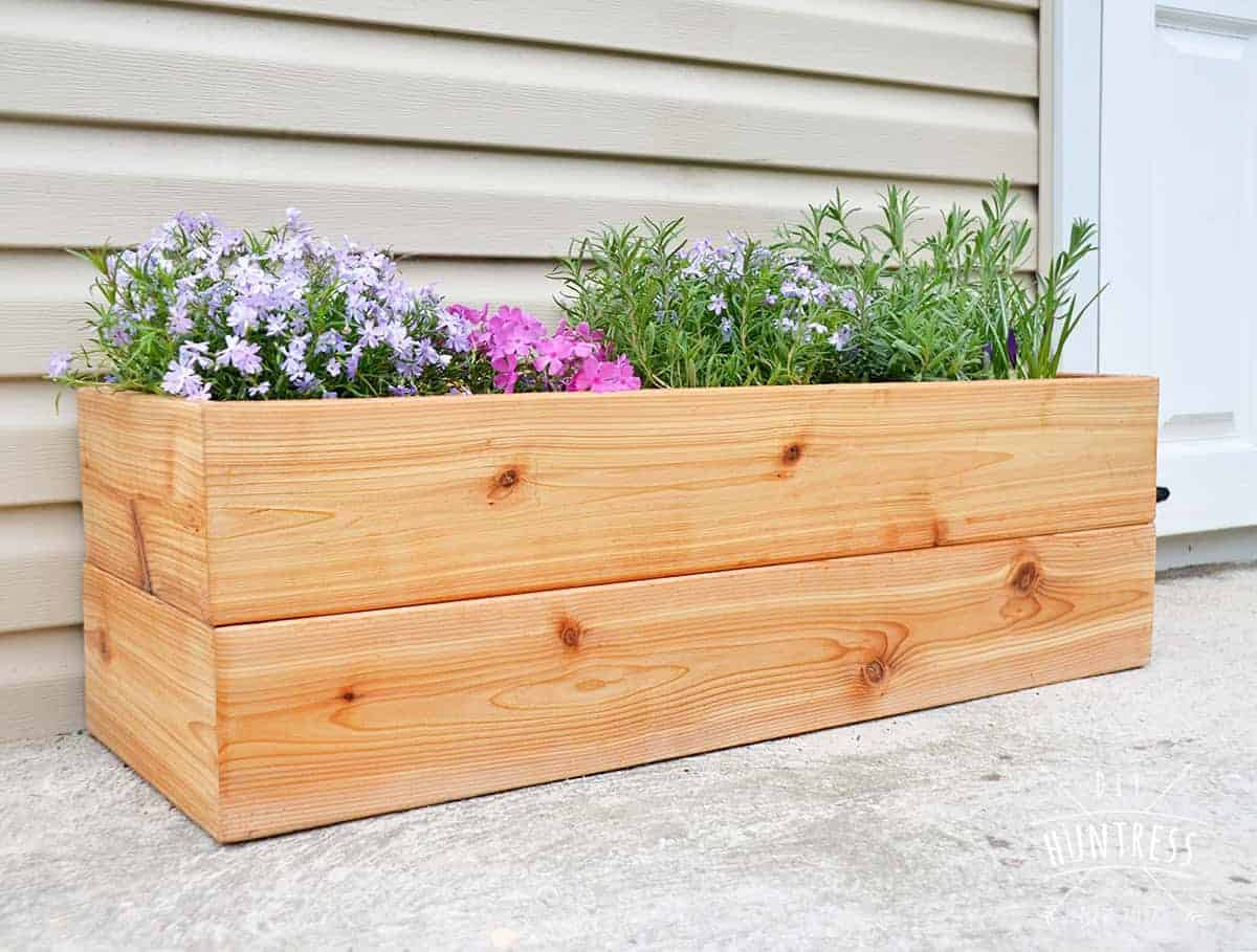 Simple Planters Stunning Planter Box Ideas Projects For Your Patio Ohmeohmy Blog