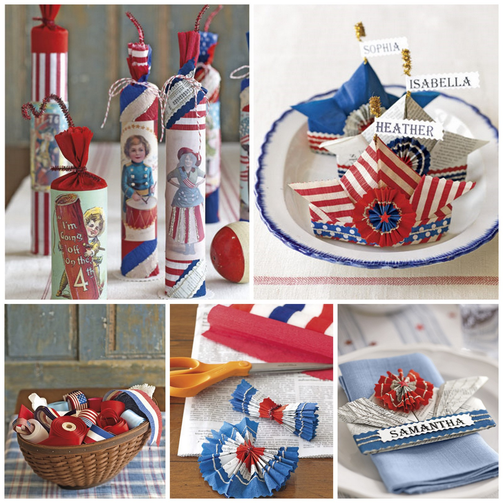 4th Of July Homemade Decorations Diy Oh My Creative