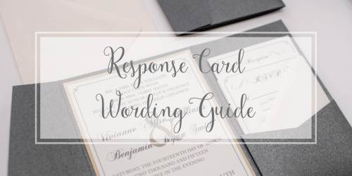 Medium Of Rsvp Card Wording