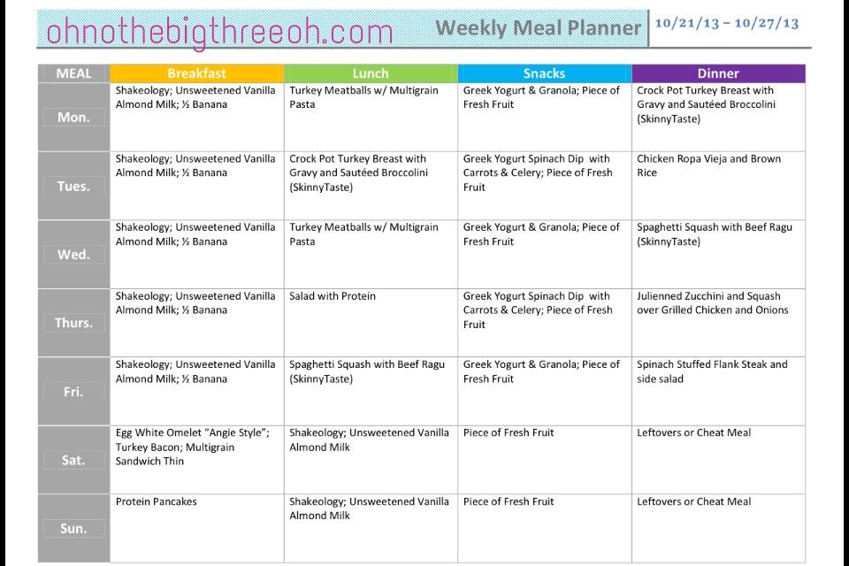 Meal plan program  Diet delivery plans