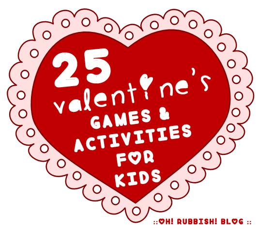 25 Fun Valentine\u0027s Day Games  Activities for Kids  Valentines Day