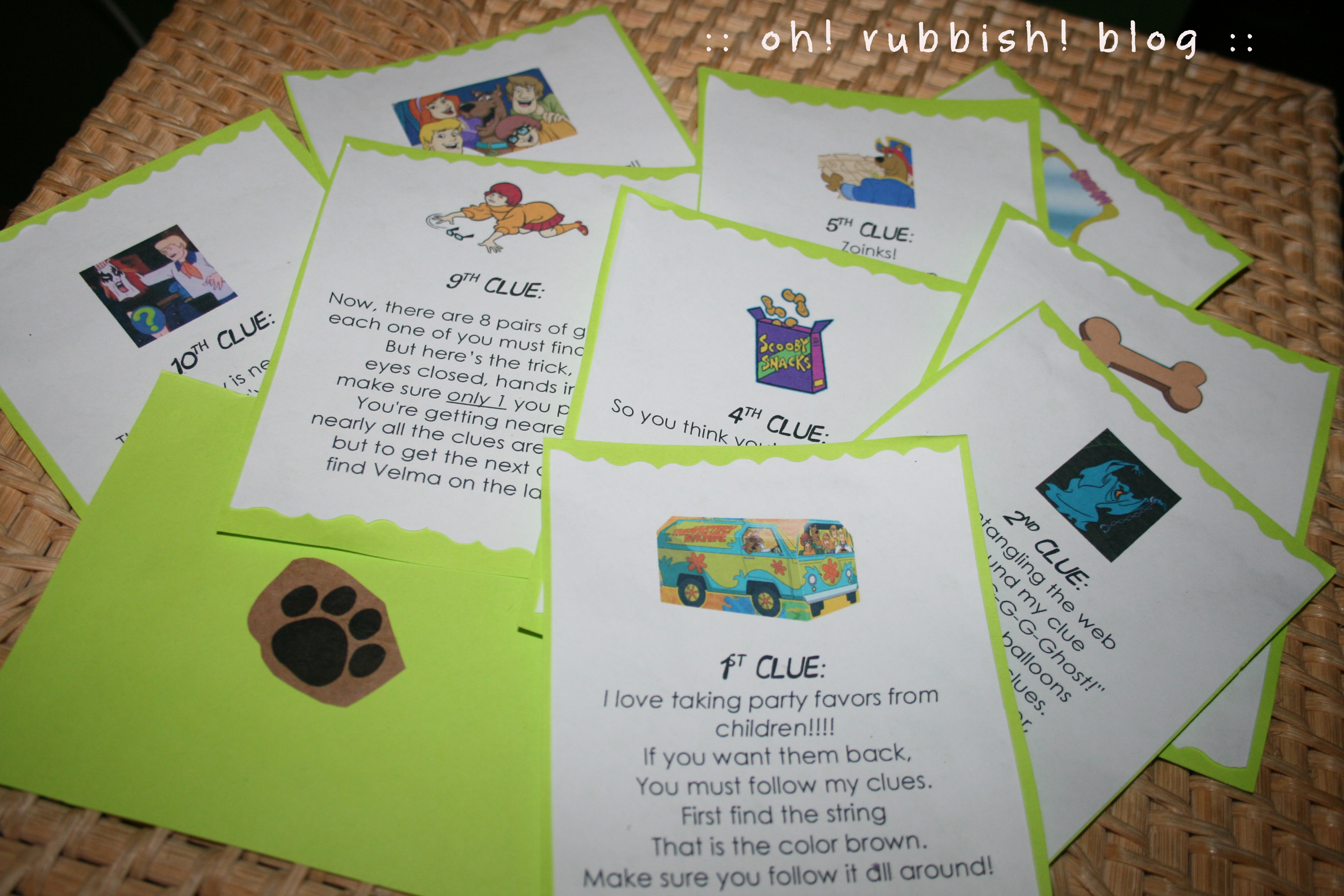 Scooby Doo Party Ideas Games Activities Scooby