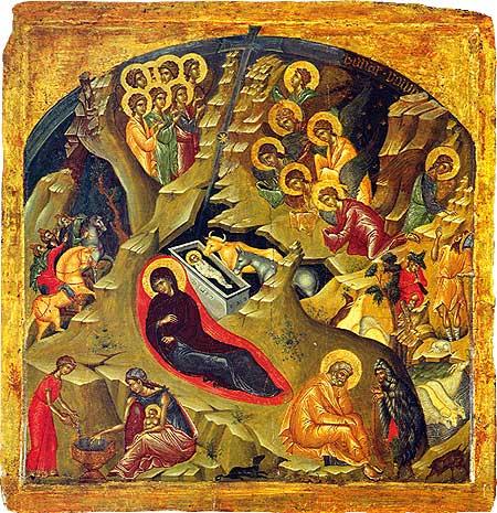 2012 nativity icon