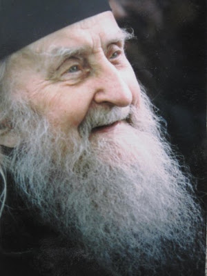 """Stand at the brink of despair, and when you see that you cannot bear it anymore, draw back a little, and have a cup of tea."" - Elder Sophrony"
