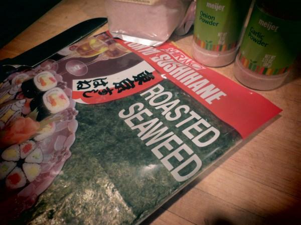 2013105 seaweed snack