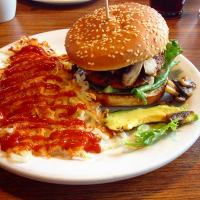 Vegan at Denny's: Amy's Burger and MOAR! (UPDATED)