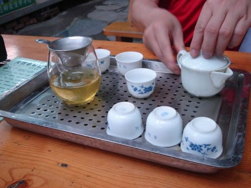 Tea Time at Bada Forest Paradise
