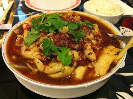 水煮魚 (Sliced Fish in Hot Chili Oil)