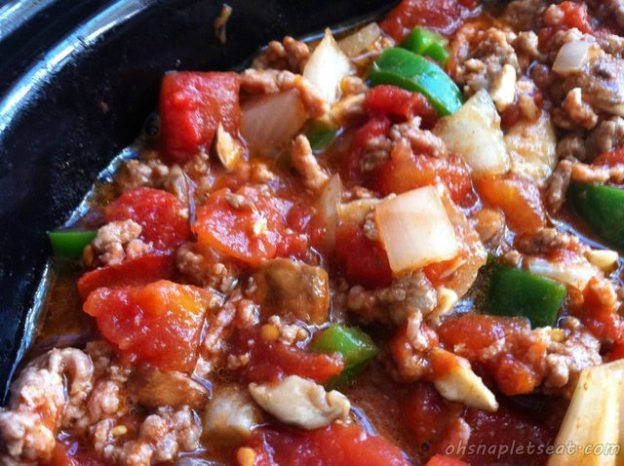 Crock Pot Recipe - Slow Cooker Spicy Chili