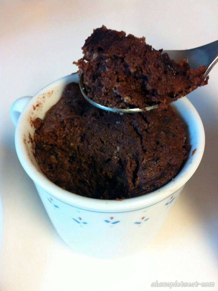 5 Minute Dessert: Paleo Chocolate Cake In A Cup