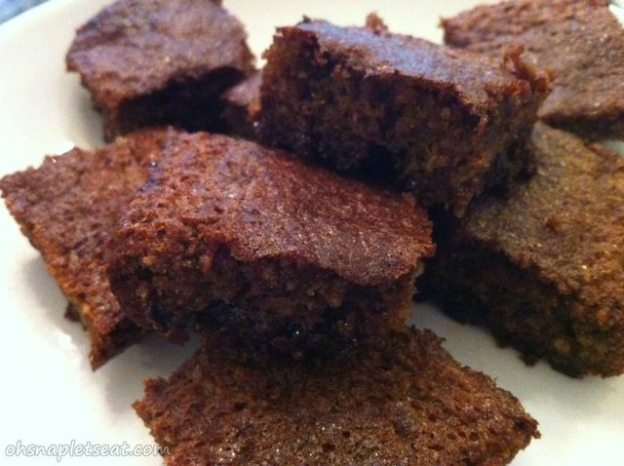 Paleo Chocolate Brownies Cake