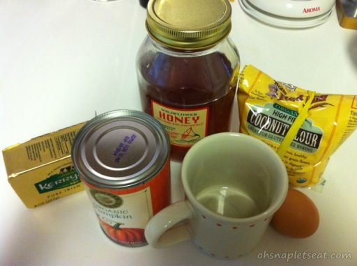 5 Minute Dessert: Paleo Pumpkin Cake In A Cup