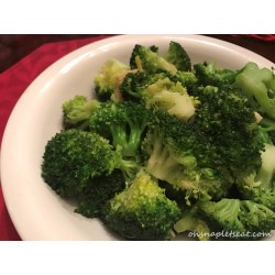 Small Crop Of Stir Fry Broccoli