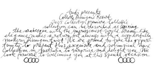 Australian Calligraphy Hand Lettering5 500x227 Calligraphy   Pick Me!