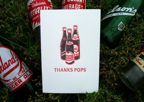 Papillon Press Thanks Pops 500x357 Seasonal Stationery: Fathers Day Cards