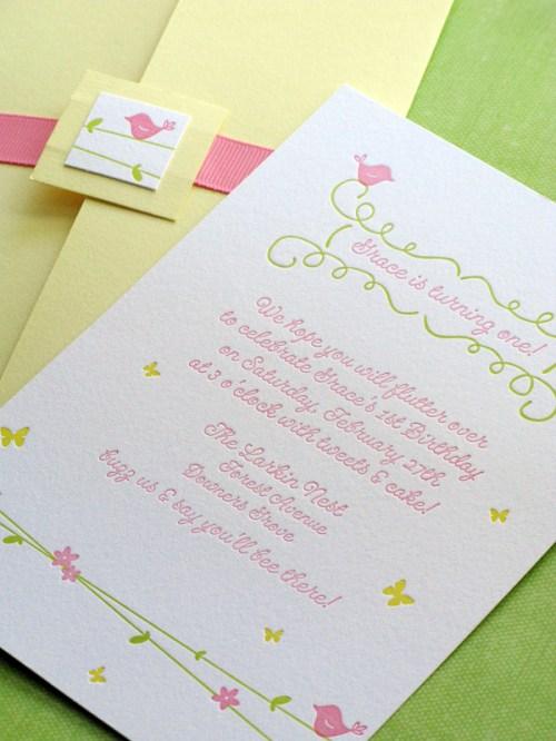 garden first birthday party invitations 500x666 Kids Party Invitations, Part3