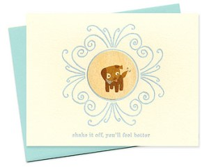 nightowlpapergoods get well card puppy 300x242 Get Well Card Round Up
