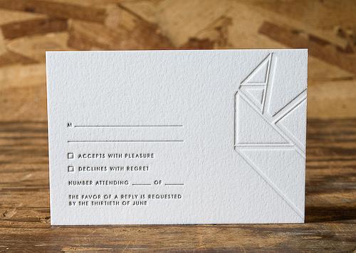 overlapping heart wedding invitation rsvp Perfect Half Wedding Invitations