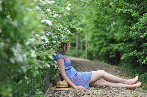 peaceful summer afternoon {happy weekend!}