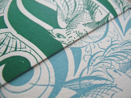 Aqua Emerald Wedding Invitations RSVP Detail 500x375 Emerald + Aqua Wedding Invitations