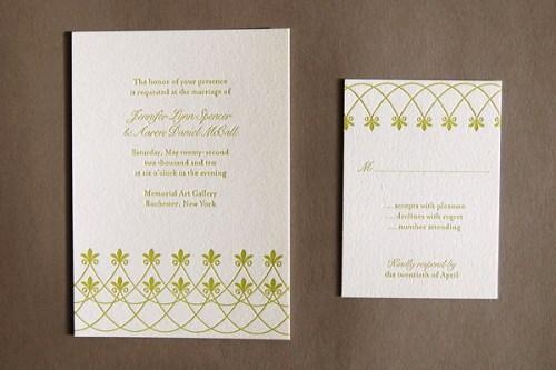 Pistachio Press Letterpress Wedding Invitations Gated Terrace 500x333 Wedding Invitations   Pistachio Press
