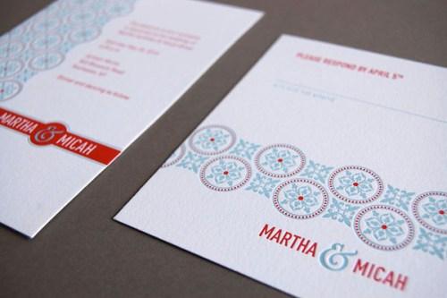 Pistachio Press Letterpress Wedding Invitations Tea Party3 500x333 Wedding Invitations — Pistachio Press, Part2