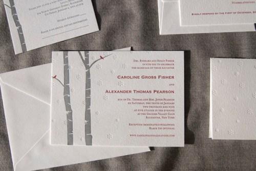 Pistachio Press Letterpress Wedding Invitations Wonderland2 500x333 Wedding Invitations   Pistachio Press