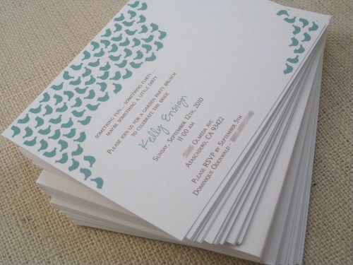 blue bird lingerie bridal shower invitation 500x375 Sweet Blue Birds Bridal Shower Invitations