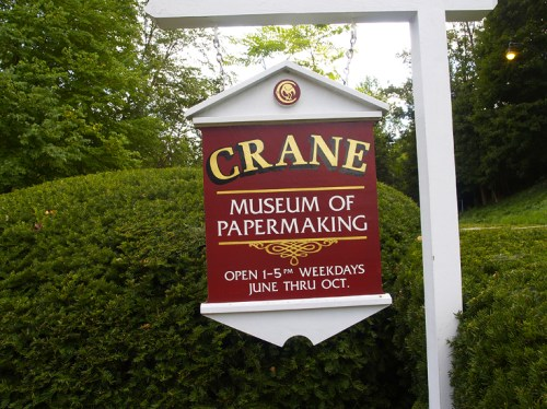 Crane Museum1 500x374 Crane Stationery, A Tour   Part 4