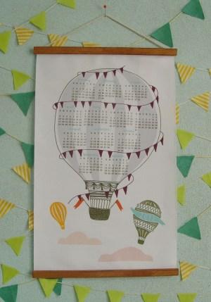Lisa Rupp 2011 Balloon Fabric Calendar 300x429 2011 Calendar Round Up, Part 1