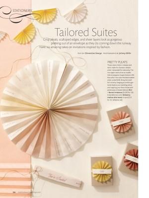Martha Stewart Weddings Stationery Pleats 300x400 Sneak Peek –Martha Stewart Weddings Fall Issue