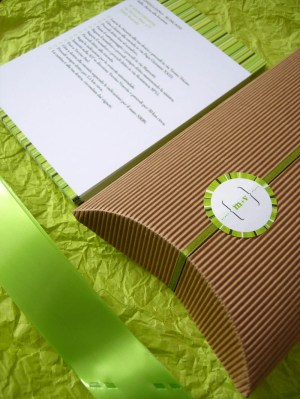 spring green wedding invitation maps 300x399 Valentina + Marcos Ireland Inspired Italian Wedding Invitations