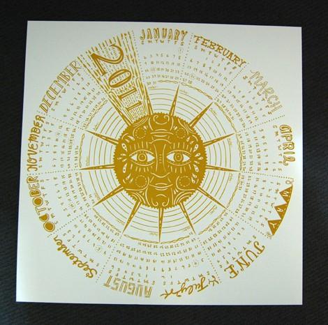 Caitlin Keegan Circular Calendar 2011 Calendar Round Up, Part 4