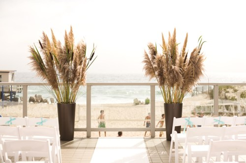 malibu beach wedding 500x333 Beach Inspired Wedding Invitations