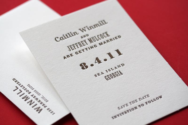 Wedding Invitations - Page Stationery