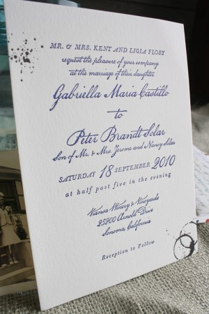 vintage travel airmail wedding invitation text 300x450 Best of 2010 Wedding Invitations: Vintage Love Letters