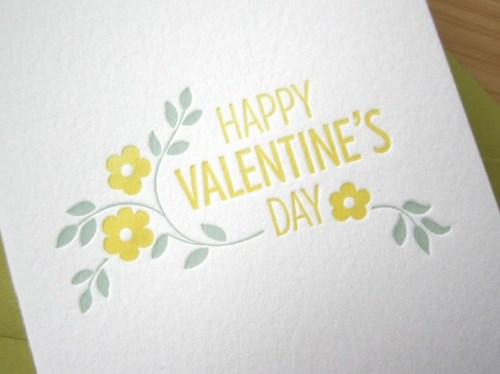 Studio Slomo Happy Valentines Day Card 500x374 Seasonal Stationery: Valentines Day Cards, Part 2