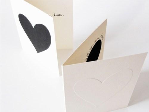 bailey doesnt bark letterpress heart valentine card 500x374 Simple + Sweet Valentines